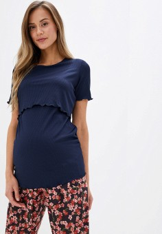 Футболка, Dorothy Perkins Maternity, цвет: синий. Артикул: DO028EWGTXE1. Dorothy Perkins Maternity
