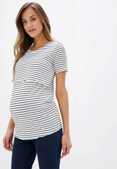 Футболка, Dorothy Perkins Maternity, цвет: белый. Артикул: DO028EWGTXE2. Dorothy Perkins Maternity