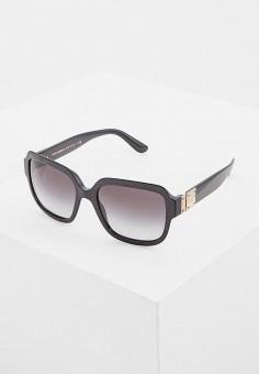 Очки солнцезащитные, Dolce amp Gabbana, цвет  черный. Артикул   DO260DWASZR0. Аксессуары 3ef220fae46