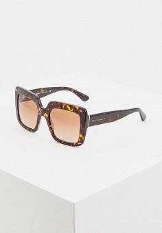 f198df2cf694 Очки солнцезащитные, Dolce amp Gabbana, цвет  коричневый. Артикул   DO260DWDRYH0. Аксессуары