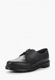 Туфли, Dr. Martens, цвет  черный. Артикул  DR004AMASWK9. Обувь   87af2269ddd