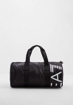 bc603d1638b3 Сумка спортивная, EA7, цвет: черный. Артикул: EA002BMDQZF0. Аксессуары /  Сумки
