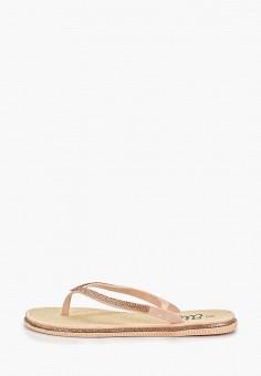 48f381381 Сланцы, Ella, цвет: розовый. Артикул: EL023AWEMDI3. Обувь