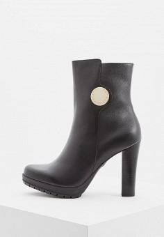 5d21cd698014 Ботильоны, Emporio Armani, цвет  черный. Артикул  EM598AWBLLB1. Обувь