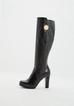 Сапоги, Emporio Armani, цвет  черный. Артикул  EM598AWBLLD0. Premium   Обувь dda1460a821