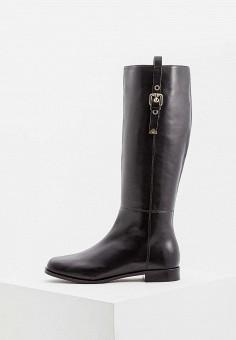 7002fbd93d51 Сапоги, Emporio Armani, цвет  черный. Артикул  EM598AWBLLD7. Premium   Обувь