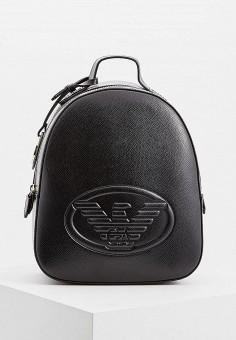 Рюкзак, Emporio Armani, цвет  черный. Артикул  EM598BWBLJJ7. Аксессуары    Рюкзаки 6d39a30a7b0