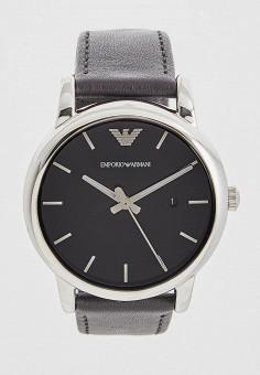 Часы, Emporio Armani, цвет  черный. Артикул  EM598DMDIO64. Premium    Аксессуары 736362fcf03