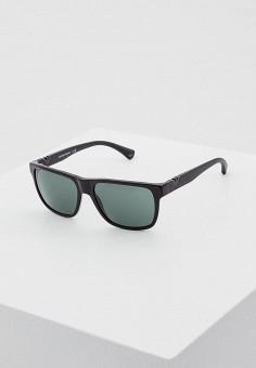 Очки солнцезащитные, Emporio Armani, цвет  черный. Артикул  EM598DMDPW90.  Premium   7b6ffe7df4c