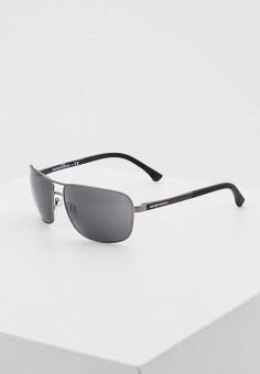 Очки солнцезащитные, Emporio Armani, цвет  черный. Артикул  EM598DMIUR36.  Premium   08f78ea53fa