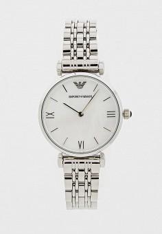 Часы, Emporio Armani, цвет  серебряный. Артикул  EM598DWAJBX1. Аксессуары    Часы 823decb1332