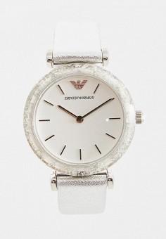 Часы, Emporio Armani, цвет  серебряный. Артикул  EM598DWCJWM2. Аксессуары    Часы bac9a6fa885