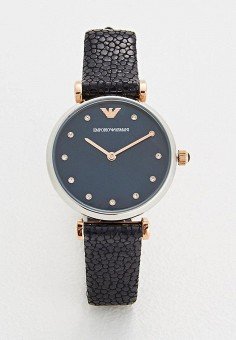 Часы, Emporio Armani, цвет  серебряный. Артикул  EM598DWZGO33. Аксессуары    Часы 60c9155bd96