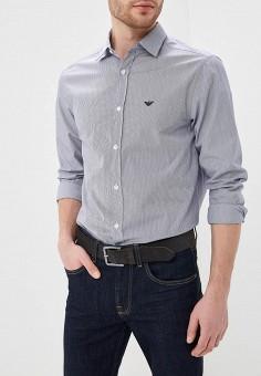 05d9ef5c4010 Рубашка, Emporio Armani, цвет  серый. Артикул  EM598EMDPYA4. Одежда    Рубашки