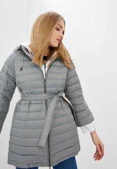 7479e08b45a9 Куртка утепленная, Emporio Armani, цвет  серый. Артикул  EM598EWDPUM7.  Одежда