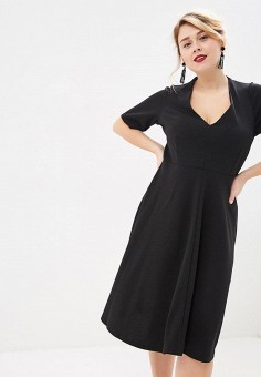 5484a5012628 Платье, Evans, цвет  черный. Артикул  EV006EWDTQW5. Одежда   Одежда больших