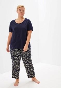 25da450c1092b Пижама, Evans, цвет: синий. Артикул: EV006EWFSRH2. Одежда / Домашняя одежда