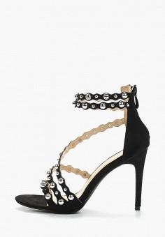 Босоножки, Fiori amp Spine, цвет  черный. Артикул  FI021AWAZFE4. Обувь   e9548865dda