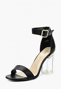 Босоножки, Fiori amp Spine, цвет  черный. Артикул  FI021AWSZD82. Обувь   d19d5b27568