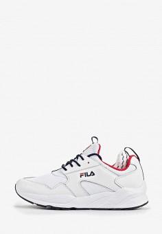 13986efe0dd939 Кроссовки, Fila, цвет: белый. Артикул: FI030AMEJFO8. Обувь / Кроссовки и