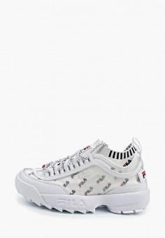 6b4e5e30 Кроссовки, Fila, цвет: белый. Артикул: FI030AWFEBK2. Обувь / Кроссовки и