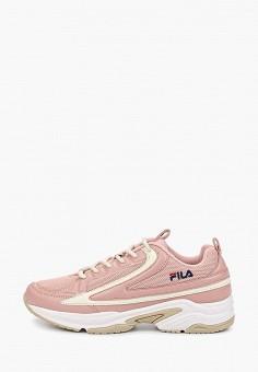Кроссовки, Fila, цвет: розовый. Артикул: FI030AWGGCJ9. Обувь / Кроссовки и кеды / Кроссовки