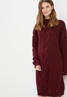 Платье, Fimfi, цвет: бордовый. Артикул: FI032EWCYDV9. Одежда / Платья и сарафаны