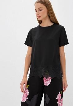 c363e369ef17 Блуза, French Connection, цвет: черный. Артикул: FR003EWFRTZ7. Premium /  Одежда