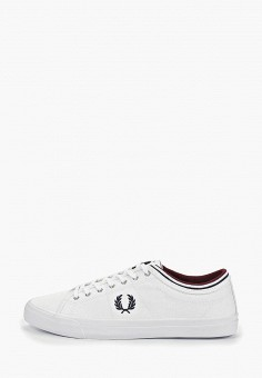 Кеды, Fred Perry, цвет  белый. Артикул  FR006AMDRNZ5. Обувь   Кроссовки e4aef02fcec