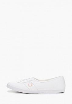 7dd4c648 Кеды, Fred Perry, цвет: белый. Артикул: FR006AWEPRE5. Обувь / Кроссовки