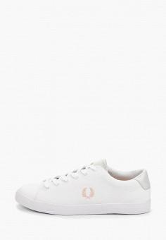 3ececa1e Кеды, Fred Perry, цвет: белый. Артикул: FR006AWEPRF4. Обувь / Кроссовки