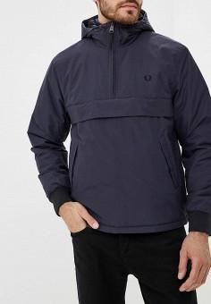 Куртка утепленная, Fred Perry, цвет  синий. Артикул  FR006EMCKQO3. Fred  Perry 246ab269b0e