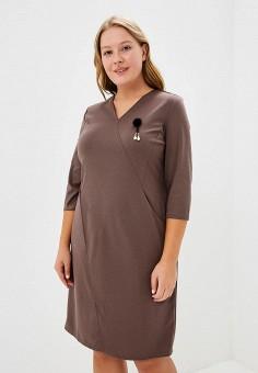 Купить вязаные и трикотажные платья больших размеров от 376 грн в ... 8393b30743a8d