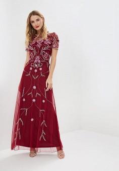Платье, Frock and Frill, цвет  бордовый. Артикул  FR055EWDLDS5. Одежда 6f5508ac4b5