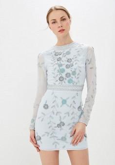 74decd0b3f8e413 Платье, Frock and Frill, цвет: голубой. Артикул: FR055EWEZPR0. Одежда /