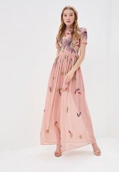 92da27b59384ad Платье, Frock and Frill, цвет: розовый. Артикул: FR055EWEZPS3. Одежда /