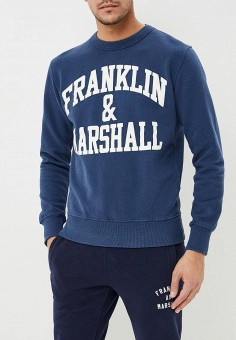 Свитшот, Franklin & Marshall, цвет: синий. Артикул: FR949EMBWAW6. Franklin & Marshall