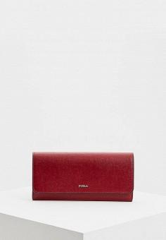ede7559acd36 Кошелек, Furla, цвет: бордовый. Артикул: FU003BWCKSL6. Premium / Аксессуары  /