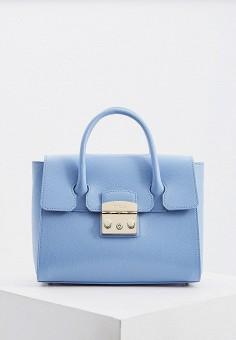 74b9ea93bfbf Сумка, Furla, цвет: голубой. Артикул: FU003BWFJAW1. Premium / Аксессуары /