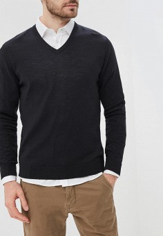 0a37aaf528aab Пуловер, Gap, цвет: черный. Артикул: GA020EMBTAD9. Одежда / Джемперы,