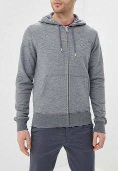 0d5fc3b5 Толстовка, Gant, цвет: серый. Артикул: GA121EMEGVG6. Одежда / Толстовки и