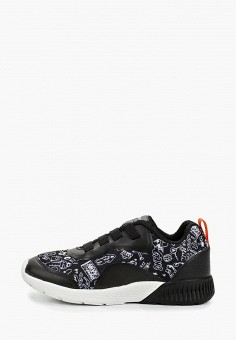 b789d1648 Кроссовки, Geox, цвет: черный. Артикул: GE347AKDMKK5. Девочкам / Обувь