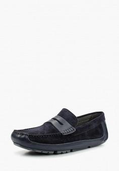 Мокасины, Geox, цвет  синий. Артикул  GE347AMADFP9. Обувь   Мокасины и 06c39aa16c2
