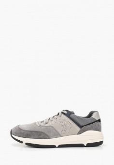 ef18a31d Кроссовки, Geox, цвет: серый. Артикул: GE347AMDMBE6. Обувь / Кроссовки и