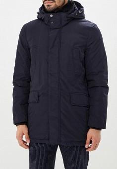 c92c7e1524df3 Куртка утепленная, Geox, цвет: синий. Артикул: GE347EMBWSX9. Одежда /  Верхняя
