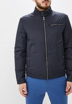 b21a29607 Куртка утепленная, Geox, цвет: синий. Артикул: GE347EMDMKV1. Одежда /  Верхняя