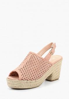 Эспадрильи, Girlhood, цвет  розовый. Артикул  GI021AWBRIK8. Обувь    Эспадрильи 109b033e6ec