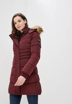 aae6c7b148ae Куртка утепленная, Giorgio Di Mare, цвет  бордовый. Артикул  GI031EWDKII4.  Одежда