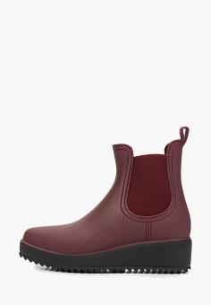 d33f74874 Резиновые полусапоги, GLAMforever, цвет: бордовый. Артикул: GL854AWECIM0.  Обувь / Резиновая