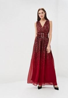 f5e031beb7a04 Платье, Goddiva, цвет: бордовый. Артикул: GO014EWCSIC4. Одежда / Платья и